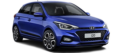 Hyundai i20,CAR RENTAL CRETE