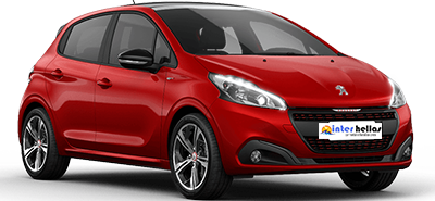 Peugeot 208 Automatic,CAR RENTAL CRETE