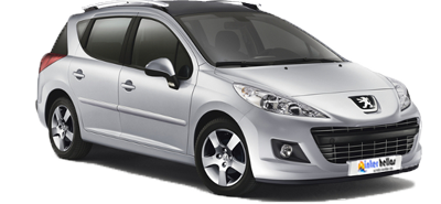 Peugeot 207 SW Estate,CAR RENTAL CRETE