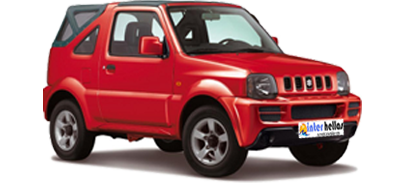 Suzuki-jimny car hire heraklion