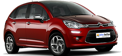 Citroen C3,CAR RENTAL iraklion