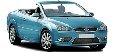 Ford Focus Coupe Cabrio car hire heraklion