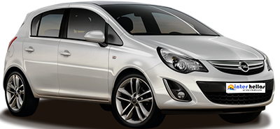 Opel Corsa,CAR RENTAL CRETE